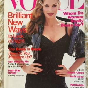 Vogue USA Cindy cover