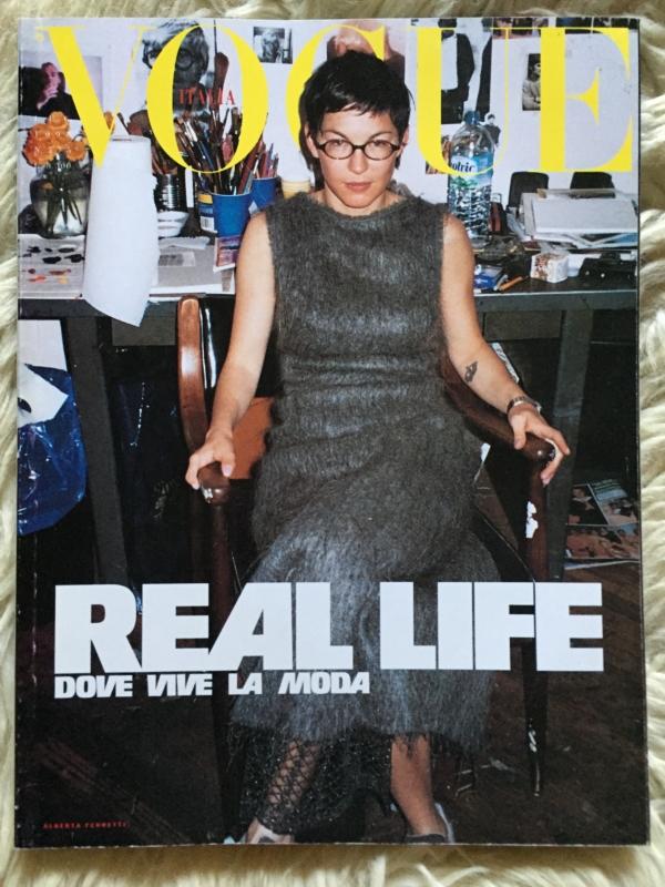 Vogue Italia Elizabeth cover