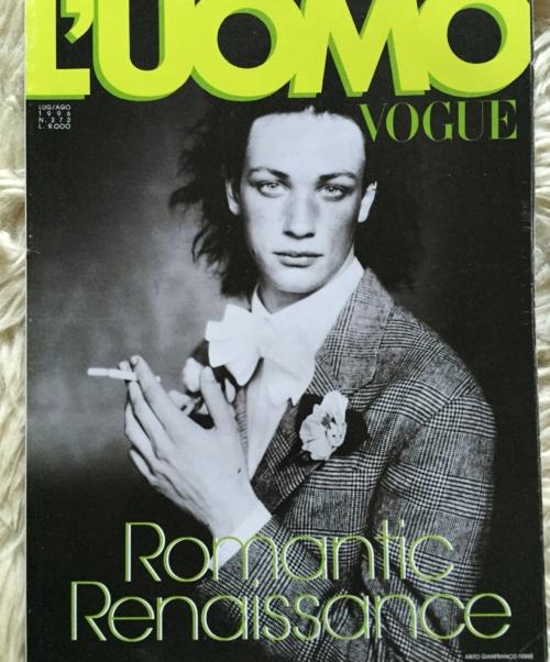 L'Uomo Vogue cover