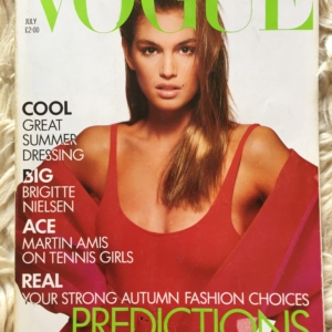 Vogue British Cindy cover