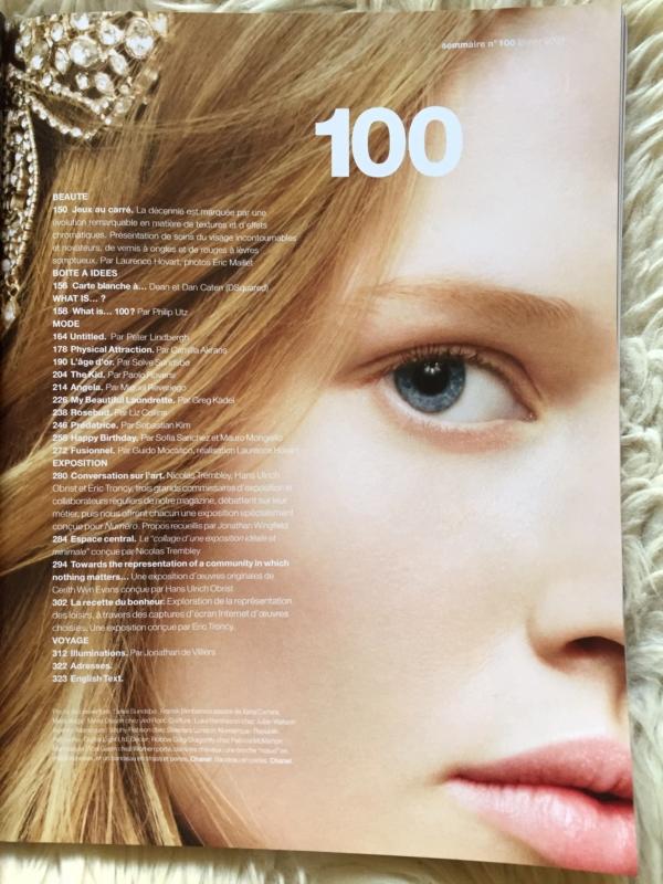Numéro 100 contents