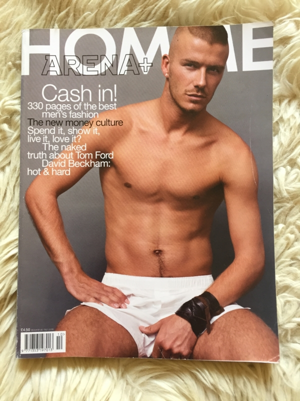 Arena Homme + cover