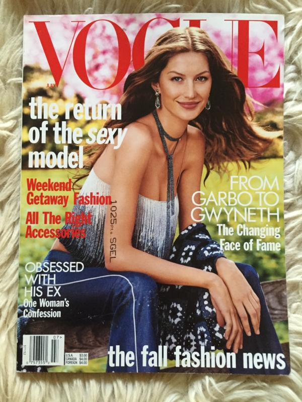 Vogue USA Gisele cover