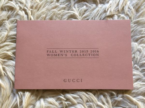 Catálogo Gucci Women fall winter 2015 2016