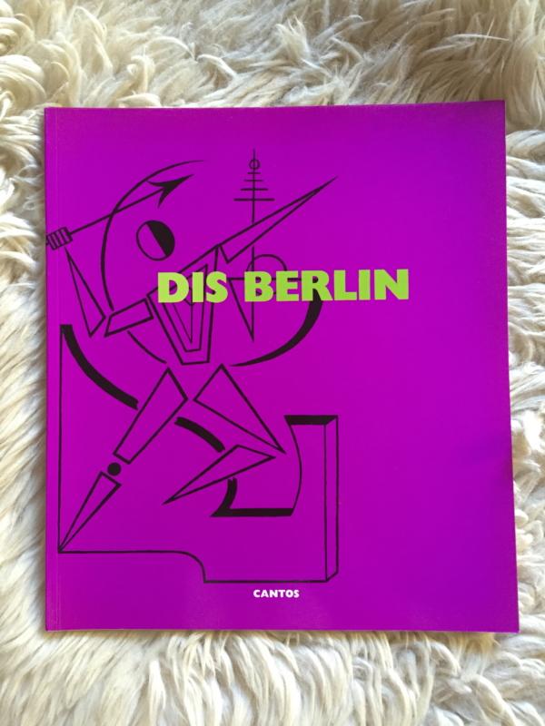 """DIS BERLIN """"Cantos"""" - Portada"""