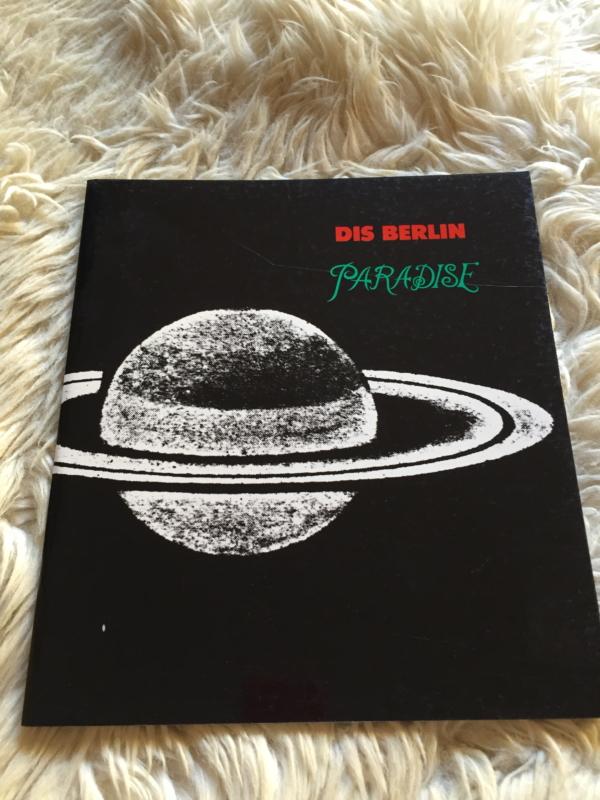 """DIS BERLIN """"Paradise"""" - Portada"""