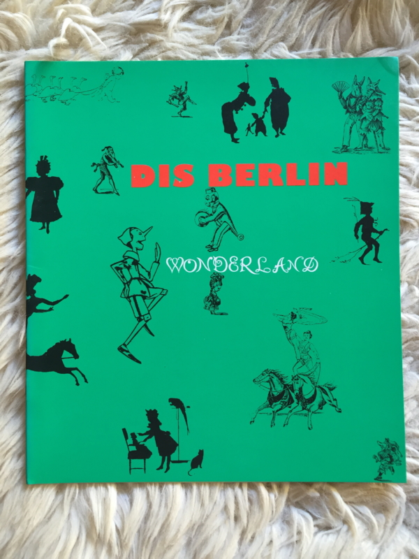 "DIS BERLIN ""Wonderland"" - Portada"