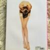 Nadja Auermann Back Cover Herb Ritts Donna Karan 1995