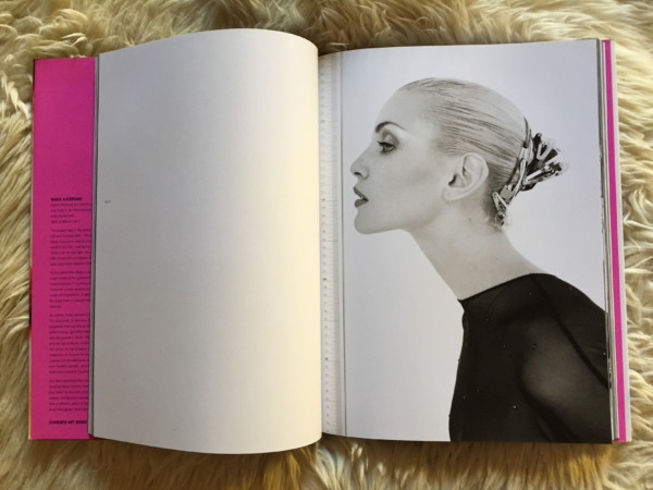 Nadja Auermann Jean-Baptiste Mondino Vogue Homme 1994