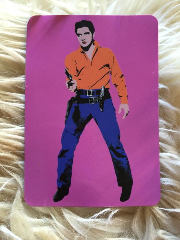 Pink Elvis Andy Warhol