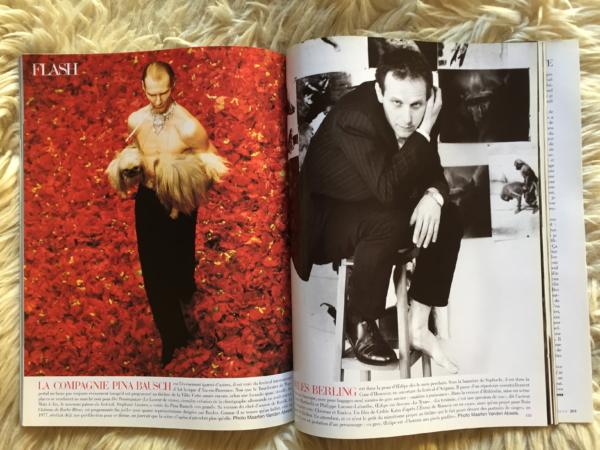 Vogue Paris Juin/Juillet 1998 interior 1
