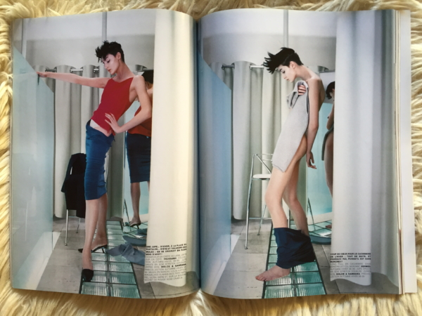 Vogue Paris Juin/Juillet 1998 interior 3