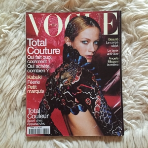 Vogue Paris Mars 1998 cover