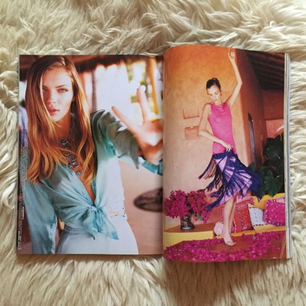 Vogue Paris Mars 1998 Elgort Cañadas