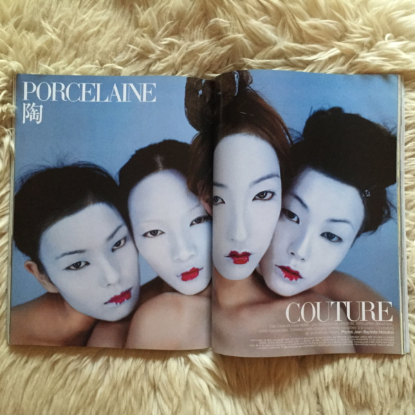Vogue Paris Mars 1998 Mondino 2