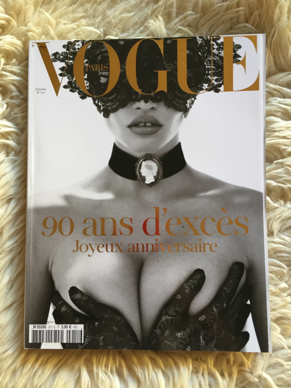 Vogue Paris 90 cover