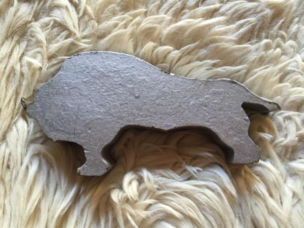 Bisonte de acero front