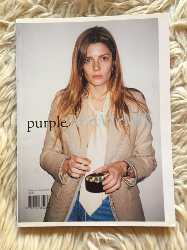 Purple Tristesse Summer 2001 cover