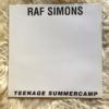 RAF SIMONS 1997 cover