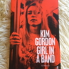 Girl in a band cover