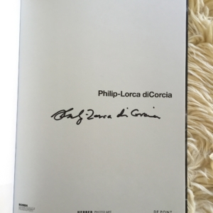 Philip-Lorca diCorcia Cover signed