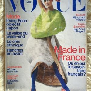 Vogue Paris Avril 1997 cover