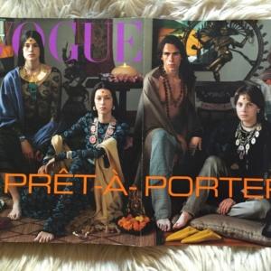 Vogue Italia Settembre 1999 double cover