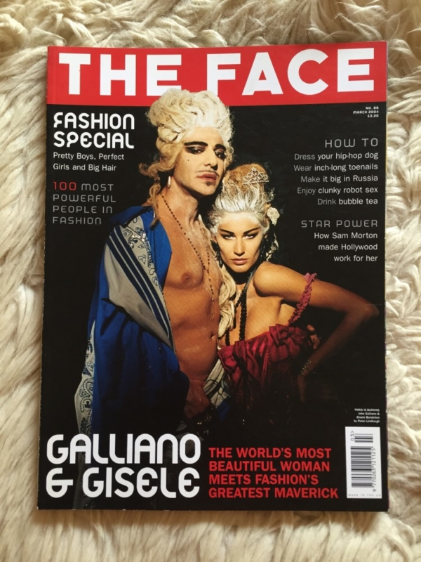 The Face March 2004 cover
