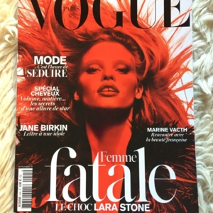 Vogue Paris Mars 2014 cover