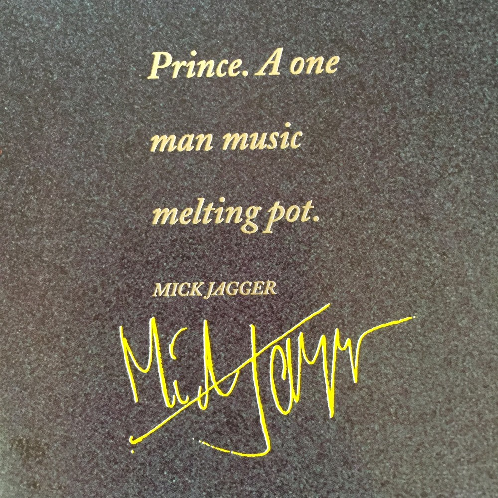 PRINCE by Mick Jagger
