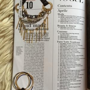 Vogue Italia Aprile 2010 Contents