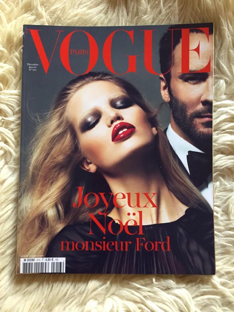 Vogue Paris Dec10/Jan11 Cover