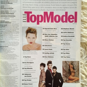 ELLE Top Model Kate Moss Contents