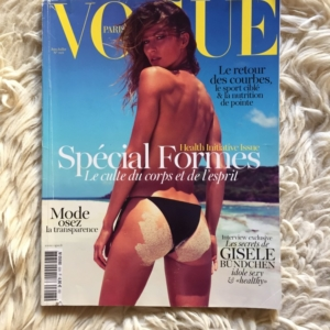 VOGUE Paris Juin-Juillet 2012 Gisele Cover