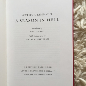 A Season In Hell Title