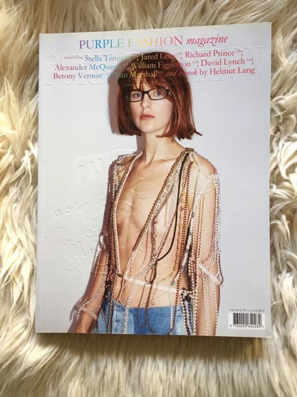 Purple Fashion Issue 7 Stella Tennant Cover