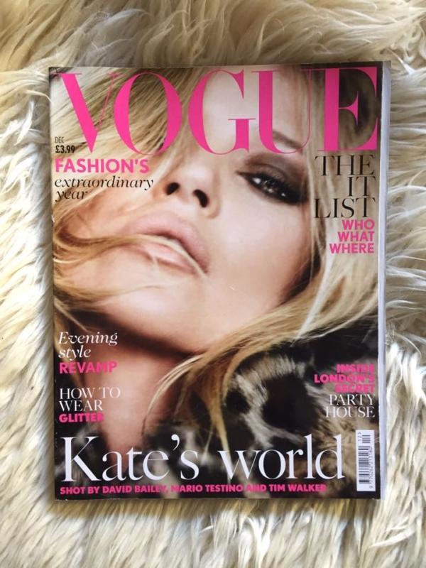 British Vogue December 2014 Cover