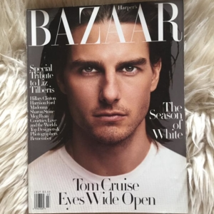 Harper´s Bazaar Liz Tilberis Tribute Cover