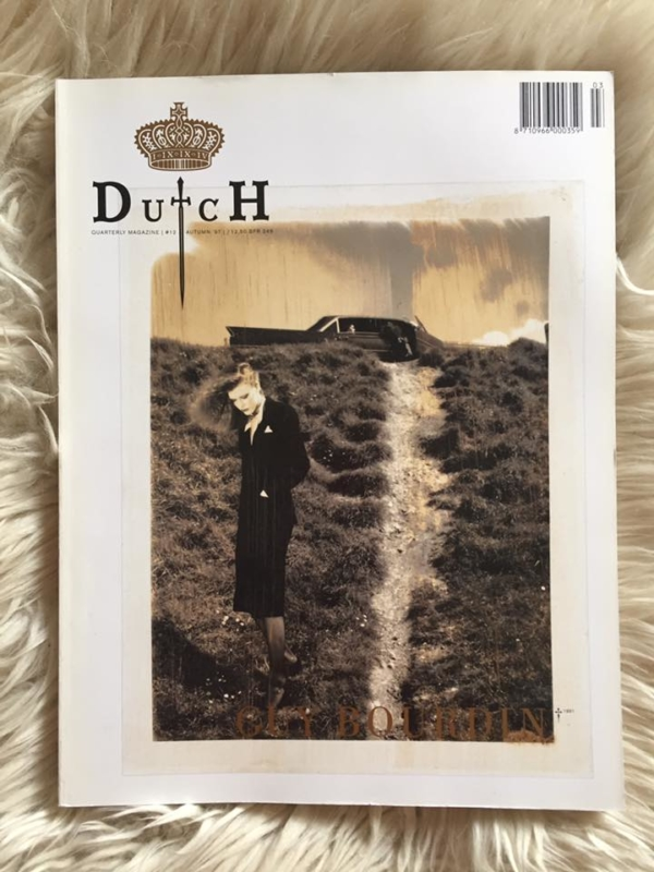 Dutch Guy Bourdin Cover