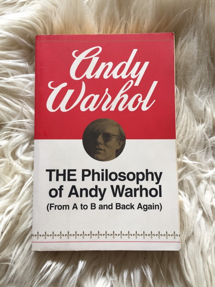 THE Philosophy of Andy Warhol Cover