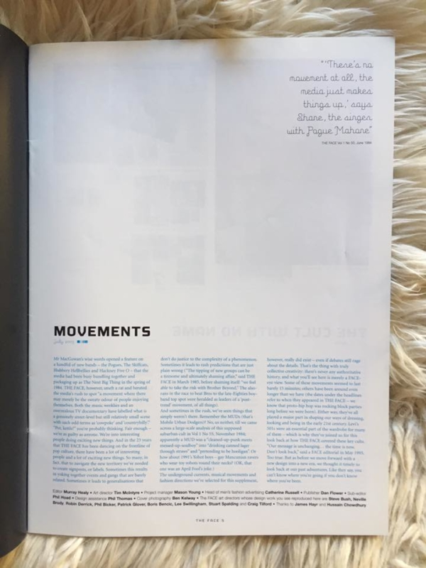 Movements 1980 - 2003 Editorial