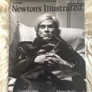 Helmut Newton´s Illustrated Cover