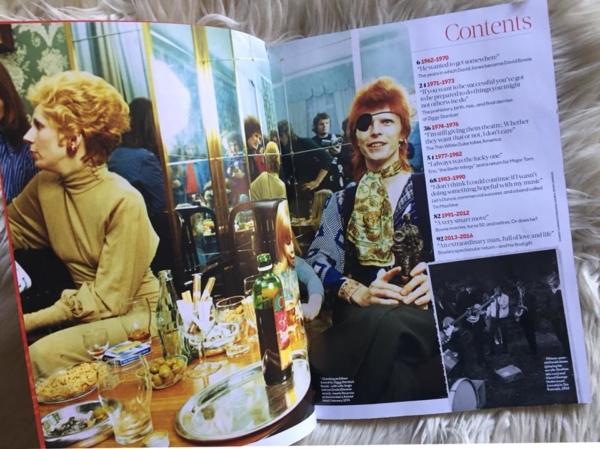 Bowie Contents