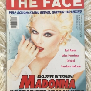 THE FACE October 1994 Cover
