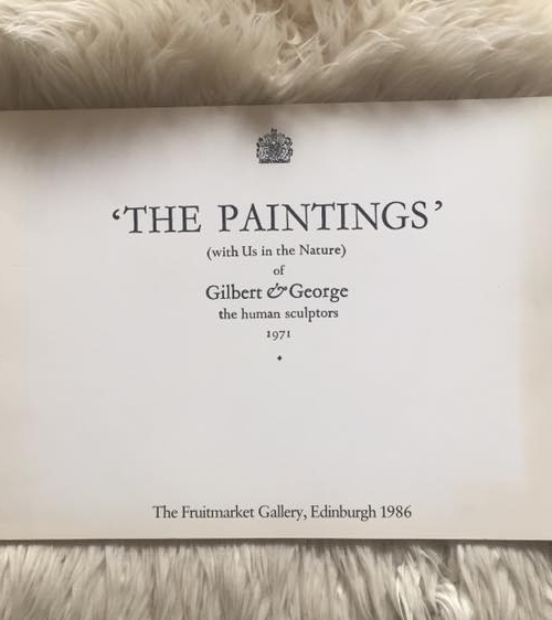 The Paintings Cover